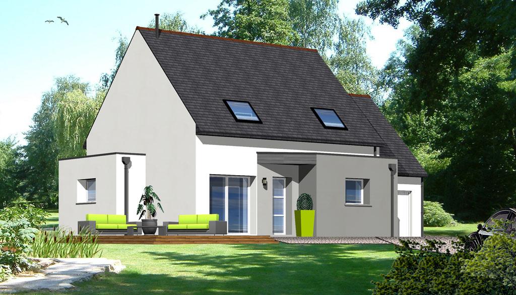 Maison contemporaine 1 maisons berci for Meilleur constructeur maison 78