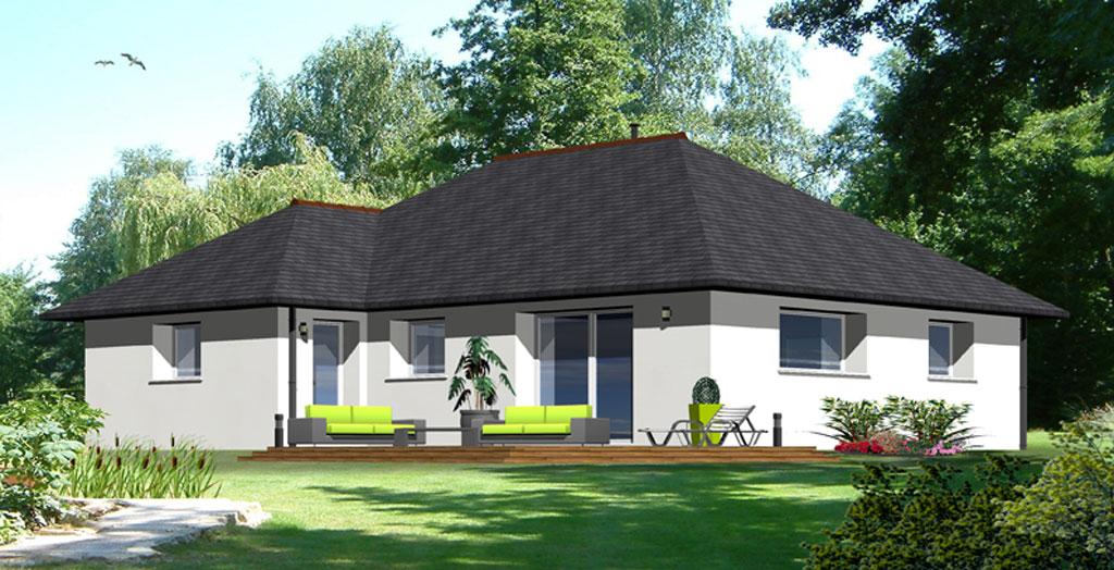 Maisons plain pied maisons berci for Constructeur de maison individuelle cote d armor