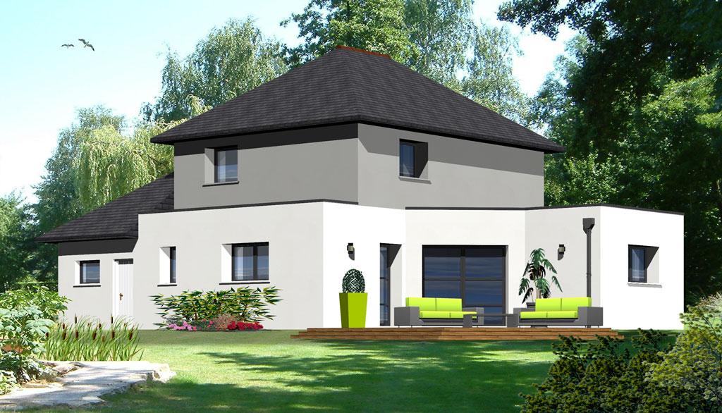 Maison contemporaine 4 maisons berci for Meilleur constructeur maison 78