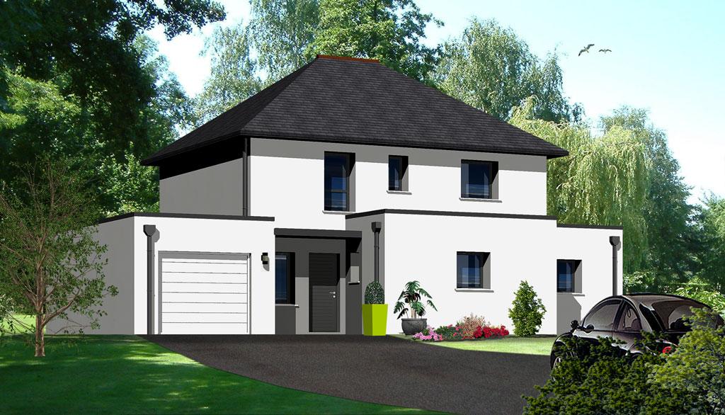 Maison contemporaine 7 maisons berci for Meilleur constructeur maison 78