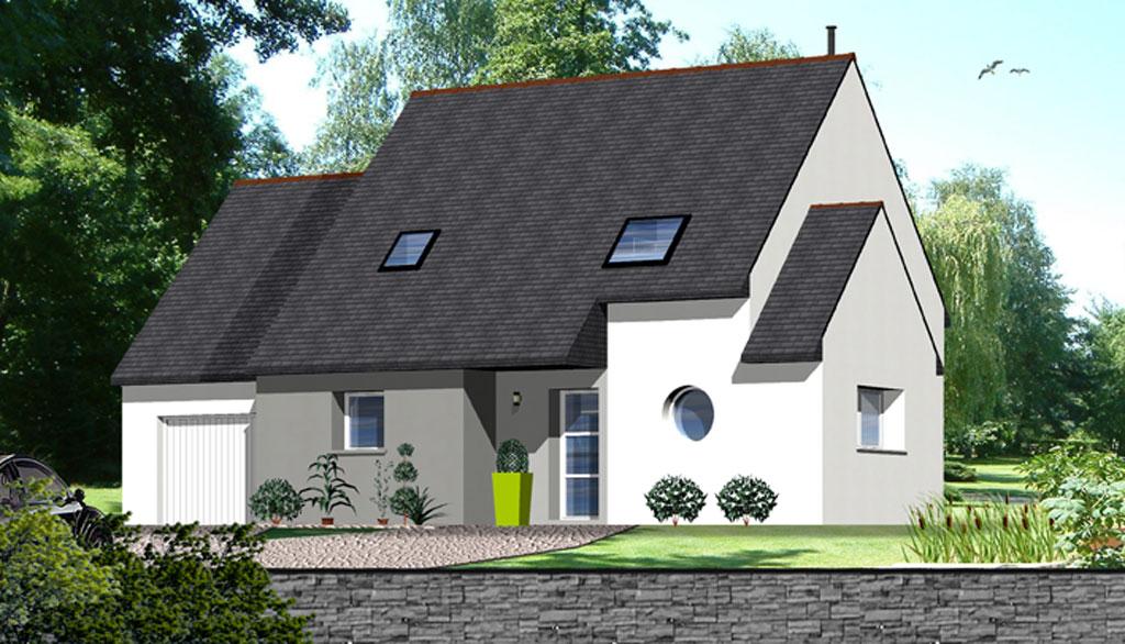 Maison traditionnelle 8 maisons berci for Meilleur constructeur maison 78