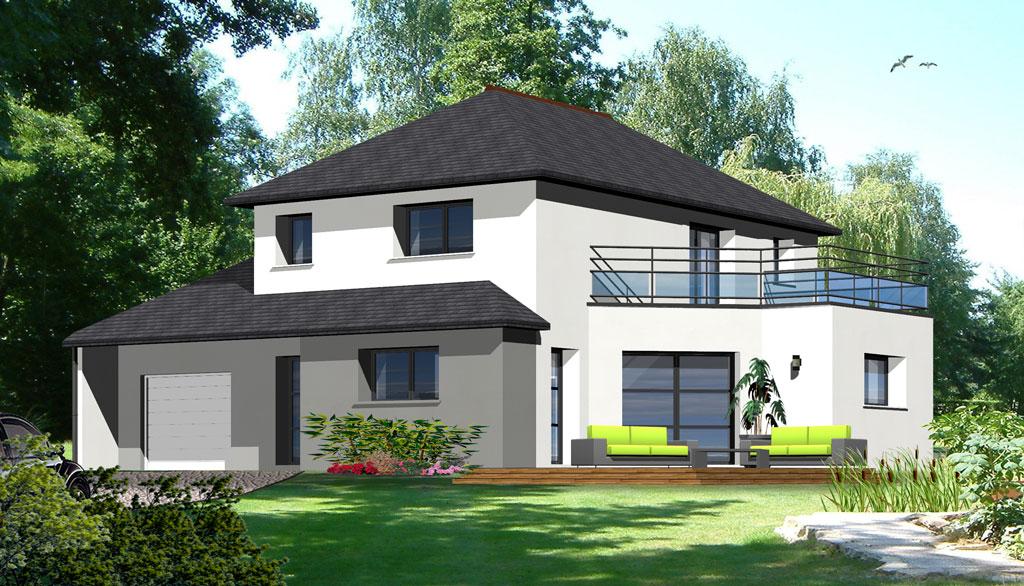 Maisons contemporaines maisons berci for Constructeur maison moderne bretagne