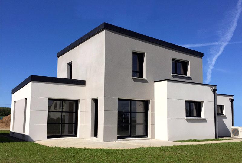 Maisons modernes maisons berci for Constructeur de maison individuelle cote d armor