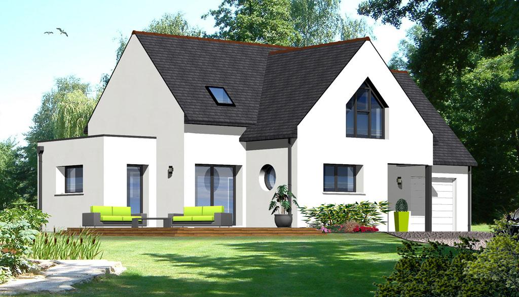 Maison contemporaine 17 maisons berci for Meilleur constructeur maison 78