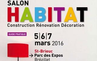 Salon de l'Habitat de Saint-Brieuc, les 5, 6 et 7 mars au parc des Expos de St Brieuc